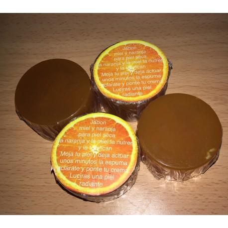Jabon de miel y naranja