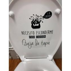 VINILO ADHESIVO PARA WC